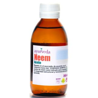 Aceite de Neem Ayurveda Auténtico - 200 ml.