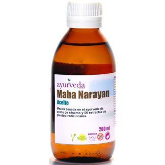 Aceite Mahanarayan Ayurveda Auténtico - 200 ml.