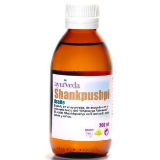 Aceite Shankhpushpi Ayurveda Auténtico - 200 ml.