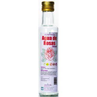 Agua de Rosas Rojas Ayurveda Auténtico - 250 ml.