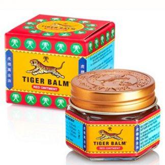 Bálsamo del Tigre Rojo Tiger Balm - 19 gramos