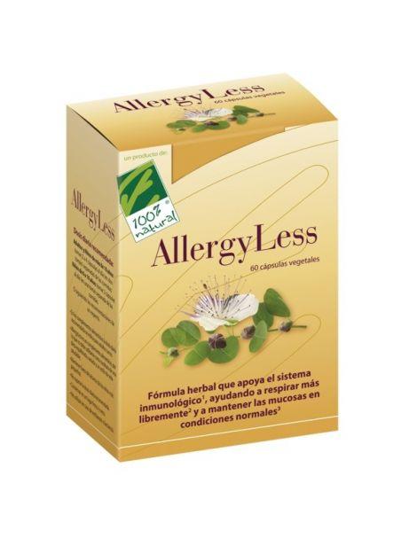 AllergyLess Cien por Cien Natural - 60 cápsulas