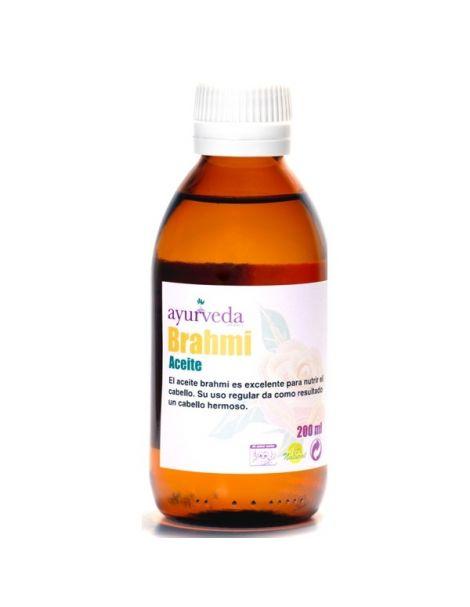 Aceite Brahmi Ayurveda Auténtico - 200 ml.