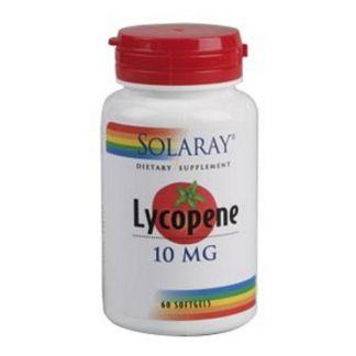 Licopeno 10 mg. Solaray - 60 perlas