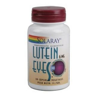 Lutein Eyes 6 mg. Solaray - 30 cápsulas