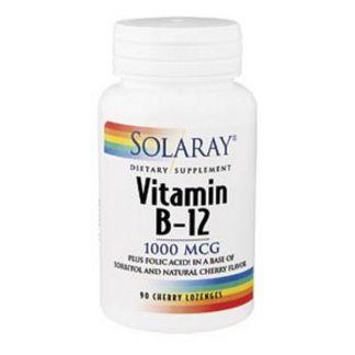 Vitamina B12 1000 mcg. Solaray - 90 comprimidos