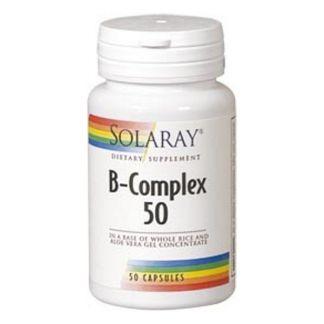 B-Complex 50 Solaray - 50 cápsulas