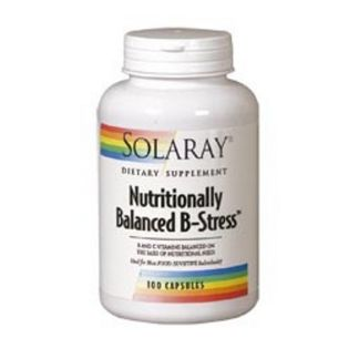 Nutritionally Balanced B Stress Solaray - 100 cápsulas