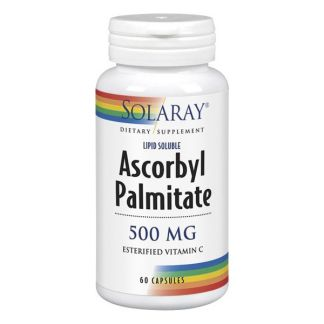 Ascorbyl Palmitate 500 mg. Solaray - 60 cápsulas