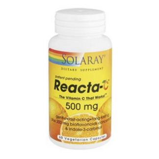 Reacta C 500 mg. Solaray - 60 cápsulas