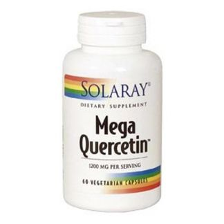 Mega Quercitina 600 mg. Solaray - 60 cápsulas