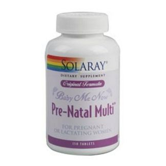 Baby Me Now Solaray - 150 comprimidos