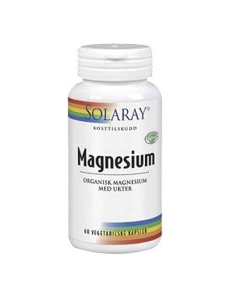 Magnesio Solaray - 90 cápsulas