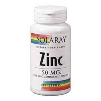Zinc 50 mg. Solaray - 60 cápsulas