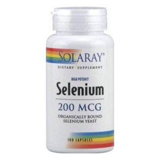 Selenio Sin Levaduras 200 mcg. Solaray - 90 cápsulas