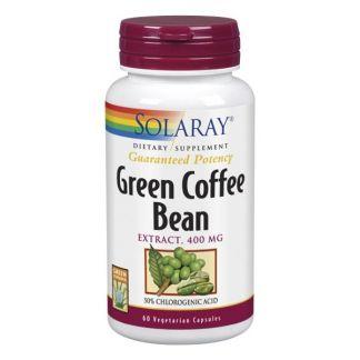 Extracto de Café Verde 400 mg. Solaray - 60 cápsulas