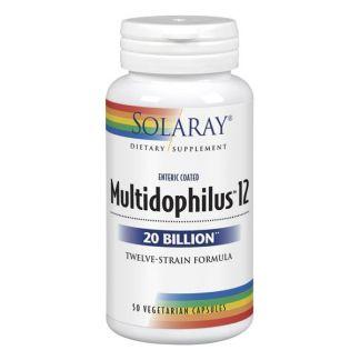 Multidophilus 12 Solaray - 50 cápsulas