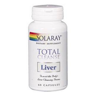 Total Cleanse Liver (Hígado) Solaray - 60 cápsulas