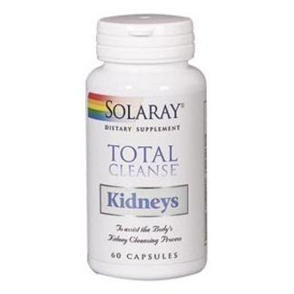 Total Cleanse Kidneys (Riñón) Solaray - 60 cápsulas