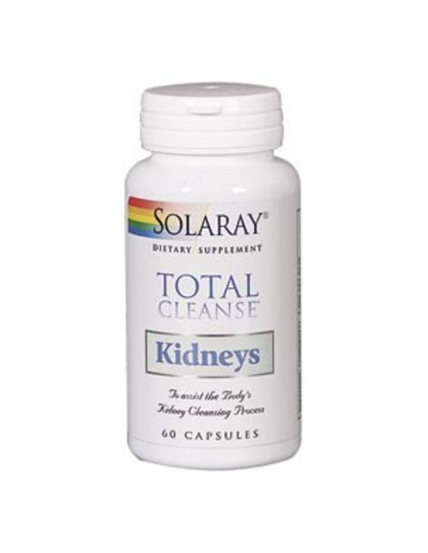 Total Cleanse Kidneys (Riñón) Solaray - 60 cápsulas