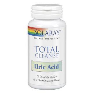 Total Cleanse Uric Acid (Ácido Úrico) Solaray - 60 cápsulas