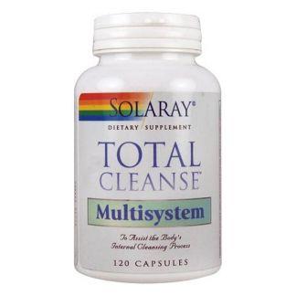 Total Cleanse Multisystem Solaray - 120 cápsulas