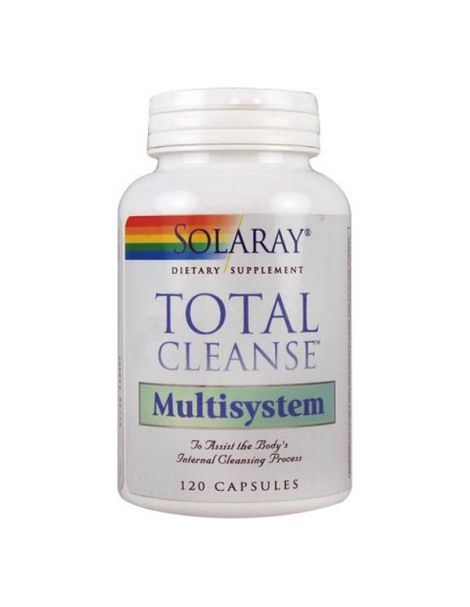 Total Cleanse Multisystem Solaray - 120 cápsulas
