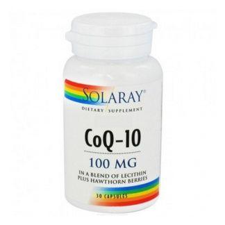 Coenzima Q10 100 mg. Solaray - 30 perlas