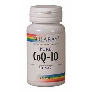 Coenzima Q10 Pura 30 mg. Solaray - 30 cápsulas
