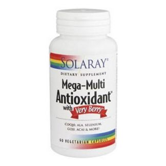 Mega Antioxidant con Very Berry Solaray - 60 cápsulas