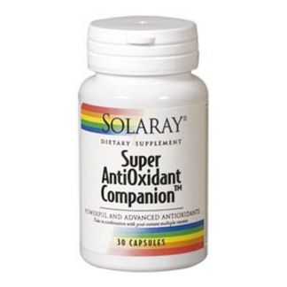 Super Antioxidant Companion Solaray - 30 cápsulas