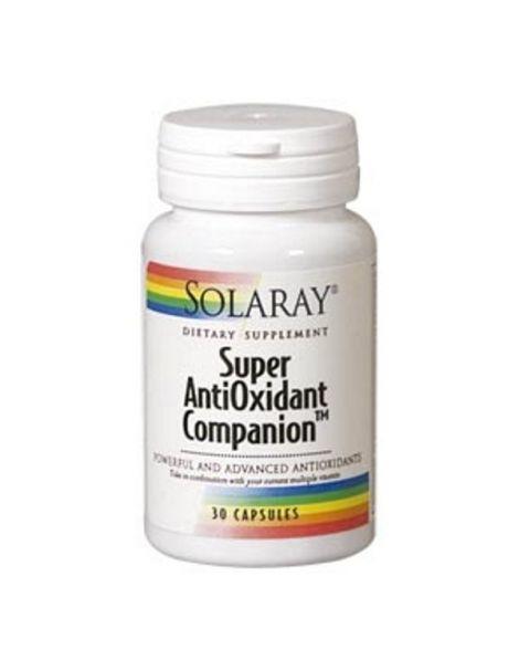 Super Antioxidant Companion Solaray - 30 cápsulas