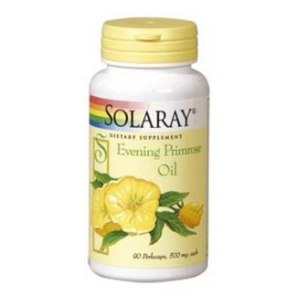 Evening Primrose Oil (Onagra) Solaray - 90 perlas