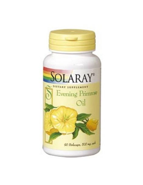 Evening Primrose Oil (Onagra) Solaray - 90 perlas