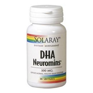 DHA Neuromins 100 mg. Solaray - 30 perlas
