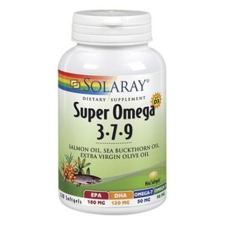 Super Omega 3-7-9 Solaray - 120 perlas