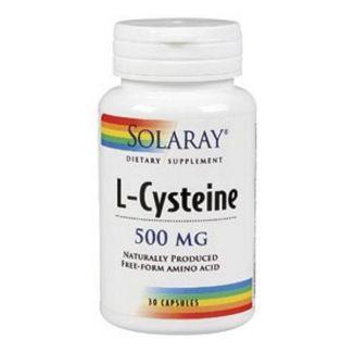 L-Cisteína 500 mg. Solaray - 30 cápsulas
