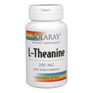 L-Teanina 200 mg. Solaray - 45 cápsulas
