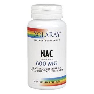 NAC (N-Acetil-Cisteína) Solaray - 60 cápsulas