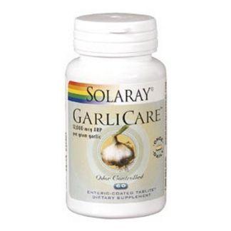 Garlicare (Ajo) 10.000 mcg. Solaray - 60 comprimidos