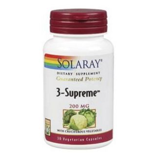 3 Supreme 200 mg. Solaray - 30 cápsulas