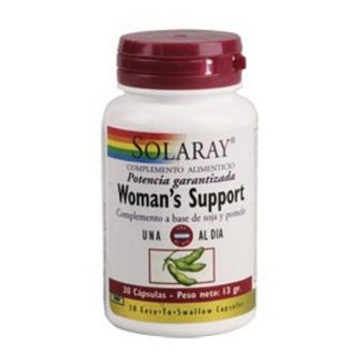 Woman's Support Solaray - 30 cápsulas