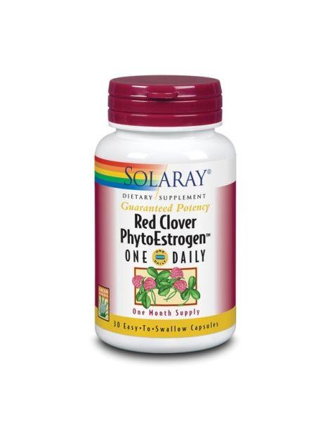 Red Clover (Trébol Rojo) Phytoestrogen Solaray - 30 cápsulas