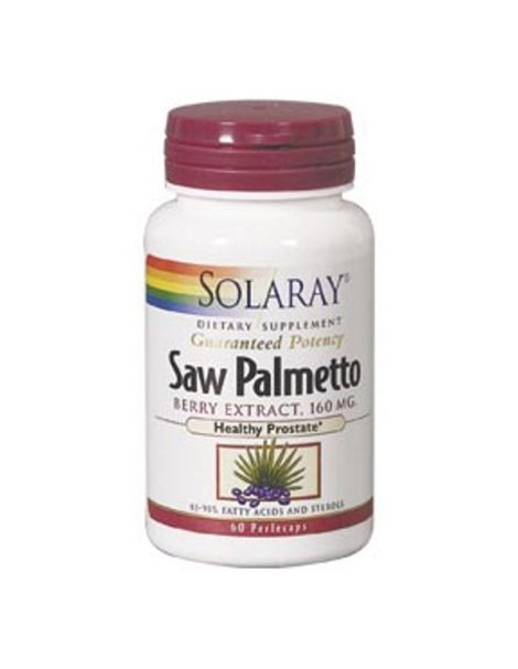Saw Palmetto Solaray - 60 perlas
