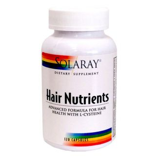 Hair Nutrients Solaray - 120 cápsulas
