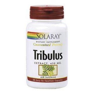 Tribulus Solaray - 60 cápsulas