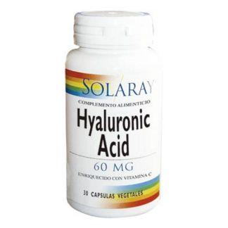 Ácido Hialurónico Solaray - 30 cápsulas