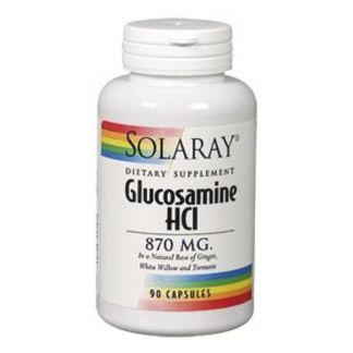 Glucosamina 870 mg. Solaray - 90 cápsulas