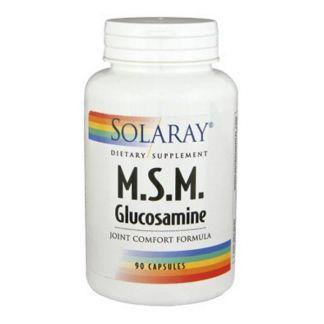 MSM & Glucosamina Solaray - 90 cápsulas
