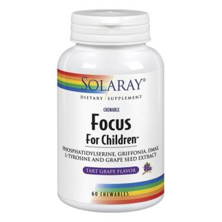 Focus for Children Solaray - 60 comprimidos